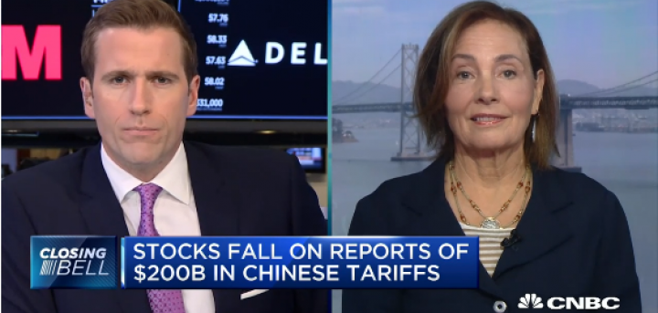 FundX CEO Janet Brown on CNBC The Closing Bell